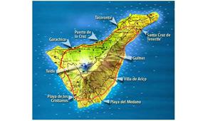 Dove si trova Tenerife